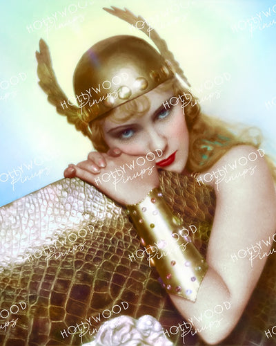 Pauline Starke in THE VIKING 1928 | Hollywood Pinups Color Prints
