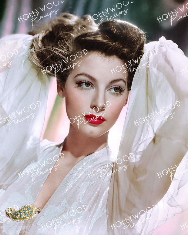 Ava Gardner Breathtaking Beauty 1942 | Hollywood Pinups Color Prints
