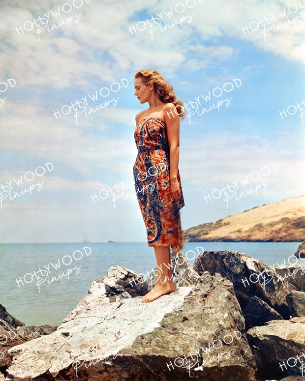 Frances Farmer in EBB TIDE 1937 DuFaycolor | Hollywood Pinups Color Prints