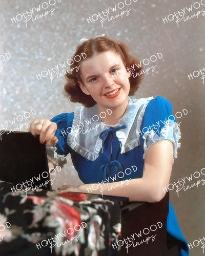 Judy Garland Blue Belle 1938 | Hollywood Pinups | Film Star Color and B&W Prints
