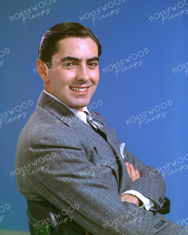 Tyrone Power Dashing Smile 1940 | Hollywood Pinups | Film Star Colour and B&W Prints