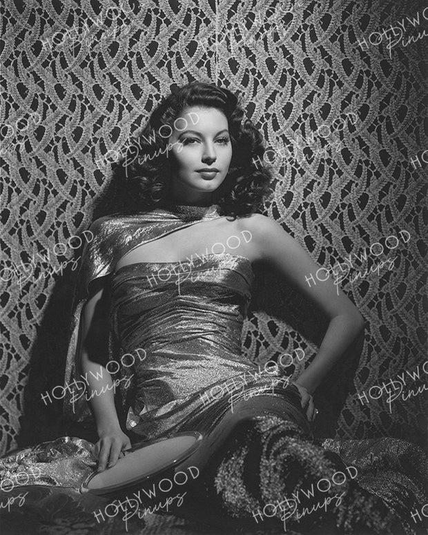 Ava Gardner Dazzling Glamour 1944 by BULL | Hollywood Pinups Color Prints