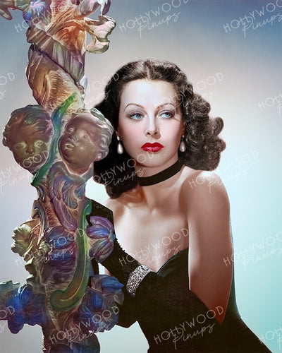 Hedy Lamarr Glamour Goddess 1943 by WILLINGER | Hollywood Pinups | Film Star Colour and B&W Prints