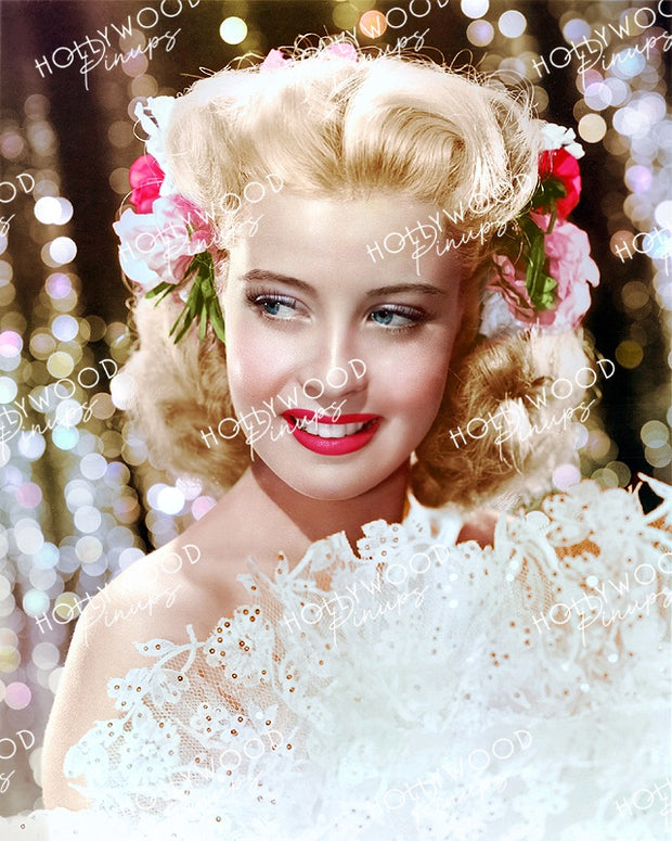 Gloria DeHaven Pinup Princess 1944 | Hollywood Pinups Color Prints
