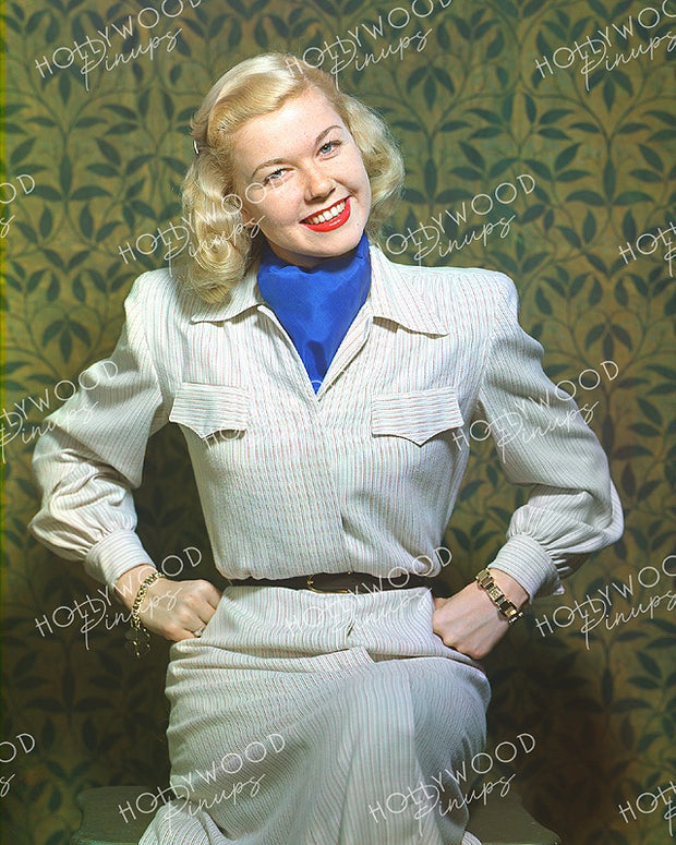 Doris Day Smiling Blonde 1947 - NEW ! | Hollywood Pinups | Film Star Colour and B&W Prints