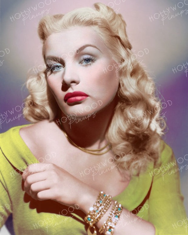 Barbara Payton in TRAPPED 1949 | Hollywood Pinups | Film Star Colour and B&W Prints