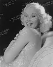 Toby Wing Frothy Blonde 1934 | Hollywood Pinups Color Prints