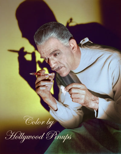 Boris Karloff BLACK FRIDAY 1940 | Hollywood Pinups | Film Star Colour and B&W Prints