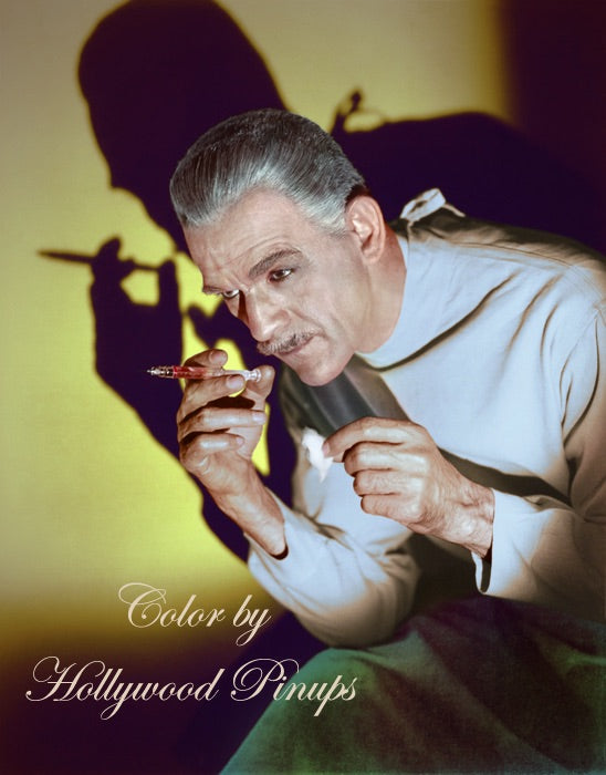 Boris Karloff BLACK FRIDAY 1940 | Hollywood Pinups Color Prints