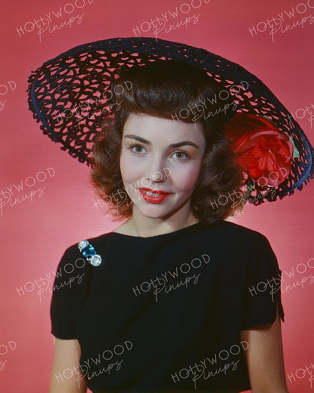 Jennifer Jones Red Rose 1944 | Hollywood Pinups | Film Star Colour and B&W Prints