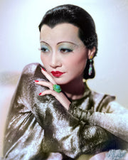 Anna May Wong LIMEHOUSE BLUES 1934 | Hollywood Pinups | Film Star Colour and B&W Prints