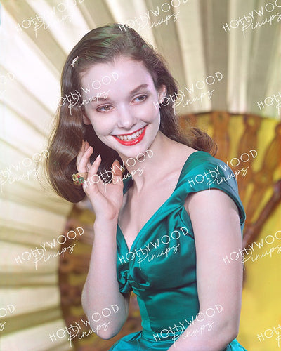 Susan Strasberg Fanned Beauty 1956 | Hollywood Pinups | Film Star Color and B&W Prints