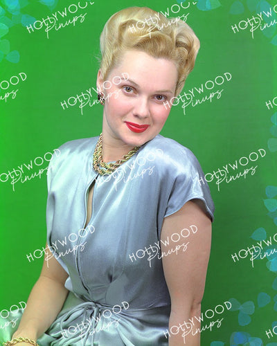 Adele Jergens Dreamy Blonde 1946 | Hollywood Pinups Color Prints
