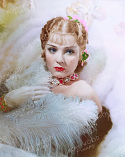 Anna Sten Dreamy Glamour 1934 NANA | Hollywood Pinups | Film Star Colour and B&W Prints