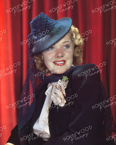 Alice Faye Netty Hat 1939 - NEW ! | Hollywood Pinups | Film Star Colour and B&W Prints