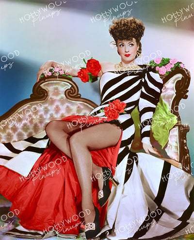 Gypsy Rose Lee in BELLE OF THE YUKON 1944 | Hollywood Pinups Color Prints