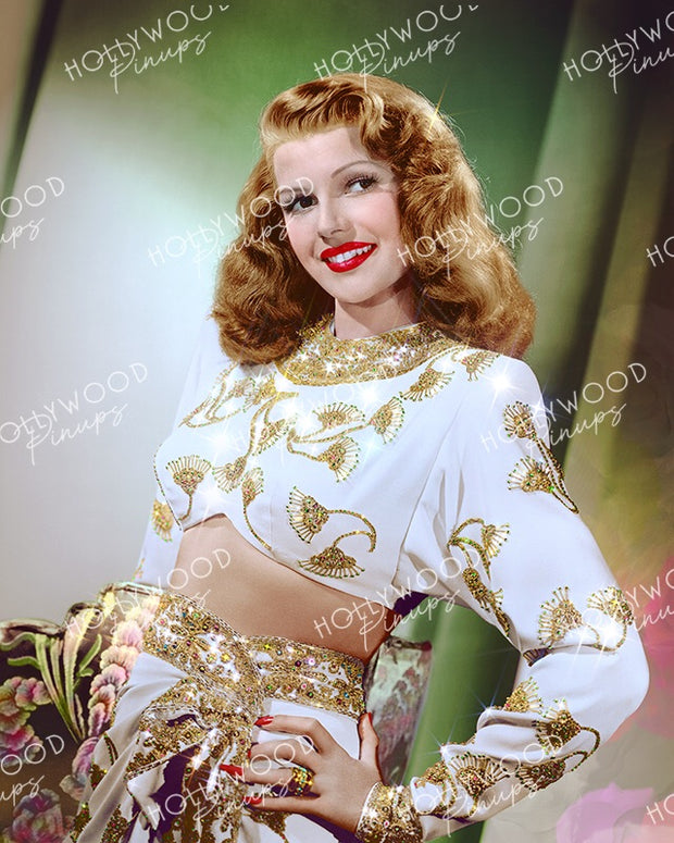 Rita Hayworth in GILDA 1946 | Hollywood Pinups Color Prints