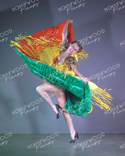 Cyd Charisse Fabulous Fiesta 1949 | Hollywood Pinups | Film Star Colour and B&W Prints
