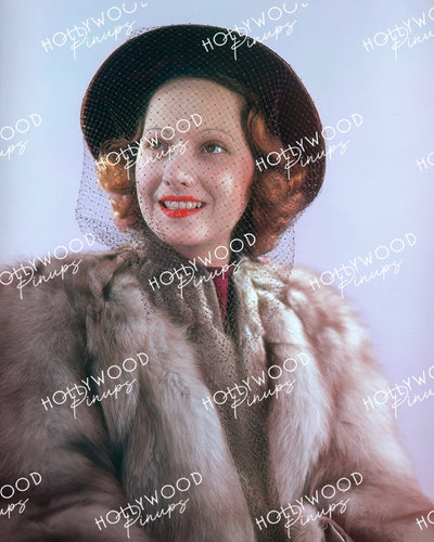 Merle Oberon Radiant Smile 1938 | Hollywood Pinups Color Prints
