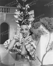 Carmen Miranda in WEEKEND IN HAVANA 1941 | Hollywood Pinups Color Prints