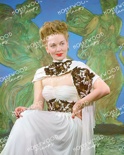 Greta Gynt Norwegian Glamour 1948 | Hollywood Pinups Color Prints