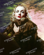 Carole Lombard in TRUE CONFESSION 1937 by Hurrell | Hollywood Pinups Color Prints