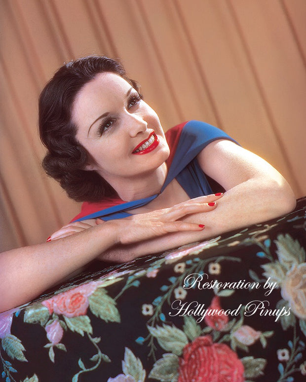 Gail Patrick Pearly Smile 1937 | Hollywood Pinups | Film Star Colour and B&W Prints