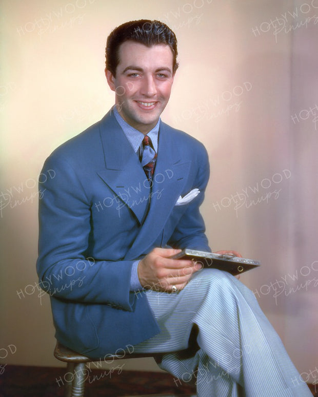Robert Taylor Earliest Color 1937 | Hollywood Pinups | Film Star Colour and B&W Prints
