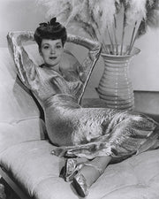 Jane Wyman Dazzling Dress 1943 | Hollywood Pinups | Film Star Colour and B&W Prints