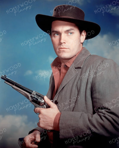 Jeffrey Hunter THE TRUE STORY OF JESSE JAMES 1957 | Hollywood Pinups | Film Star Colour and B&W Prints