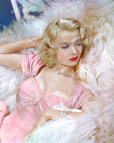 Carole Landis Sumptuous Blonde 1938 | Hollywood Pinups Color Prints
