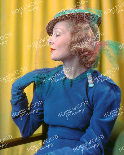 Helen Vinson Stylish Profile 1937 | Hollywood Pinups Color Prints
