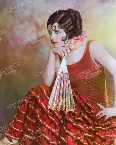 Pola Negri THE SPANISH DANCER 1923 | Hollywood Pinups | Film Star Colour and B&W Prints