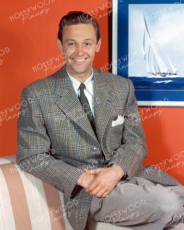 William Holden Tweed Suit 1941 KODACHROME - NEW ! | Hollywood Pinups | Film Star Colour and B&W Prints