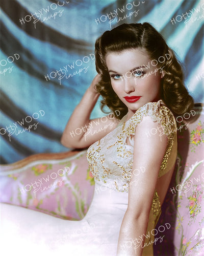 Lois Collier Slinky Glamour 1945 | Hollywood Pinups Color Prints