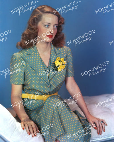 Bette Davis Floral Corsage 1938 | Hollywood Pinups Color Prints
