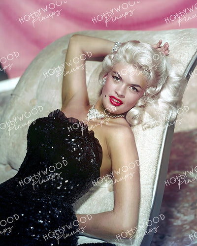 Jayne Mansfield Glamour Bombshell 1956 | Hollywood Pinups Color Prints