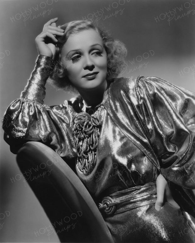 Gloria Stuart Shimmering Star 1936 | Hollywood Pinups | Film Star Colour and B&W Prints
