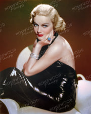 Madeleine Carroll Slinky Dress 1936 | Hollywood Pinups | Film Star Colour and B&W Prints