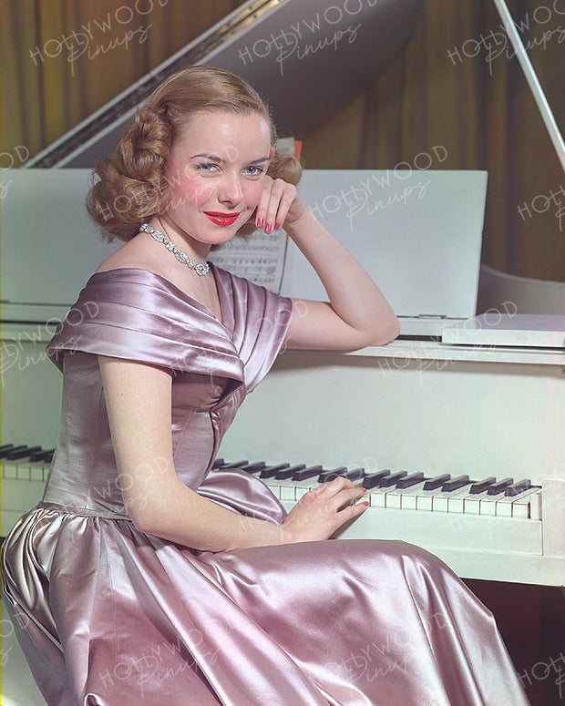Diana Lynn Satin Sheen 1947 | Hollywood Pinups | Film Star Colour and B&W Prints