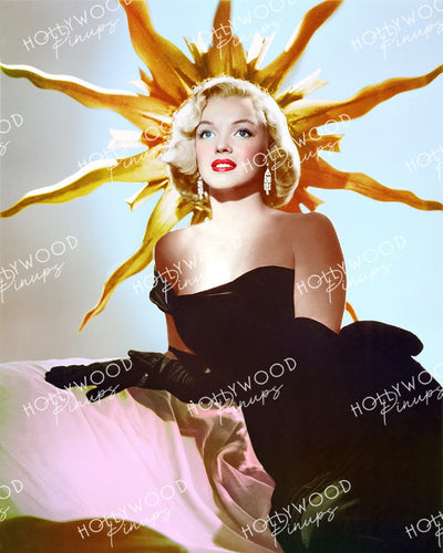 Marilyn Monroe Glamour Goddess 1951 | Hollywood Pinups Color Prints