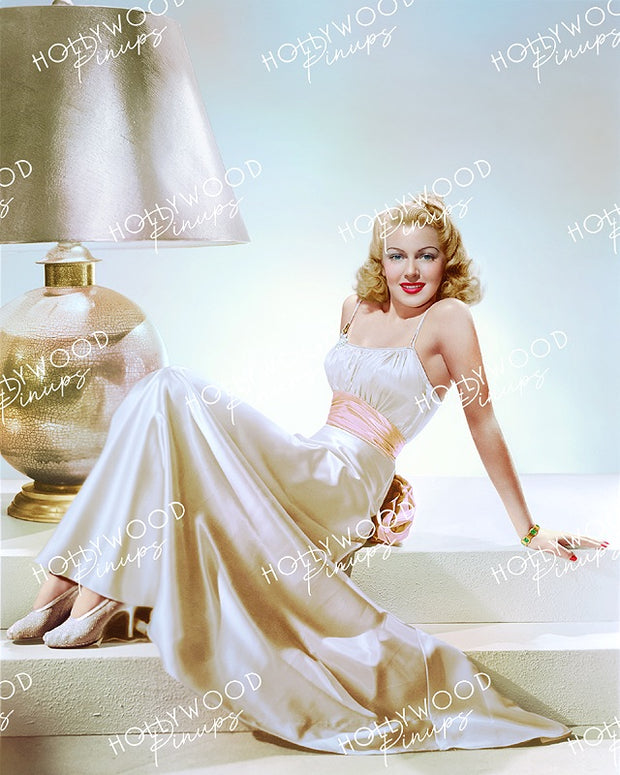 Lana Turner Glistening Glamour 1940 | Hollywood Pinups Color Prints