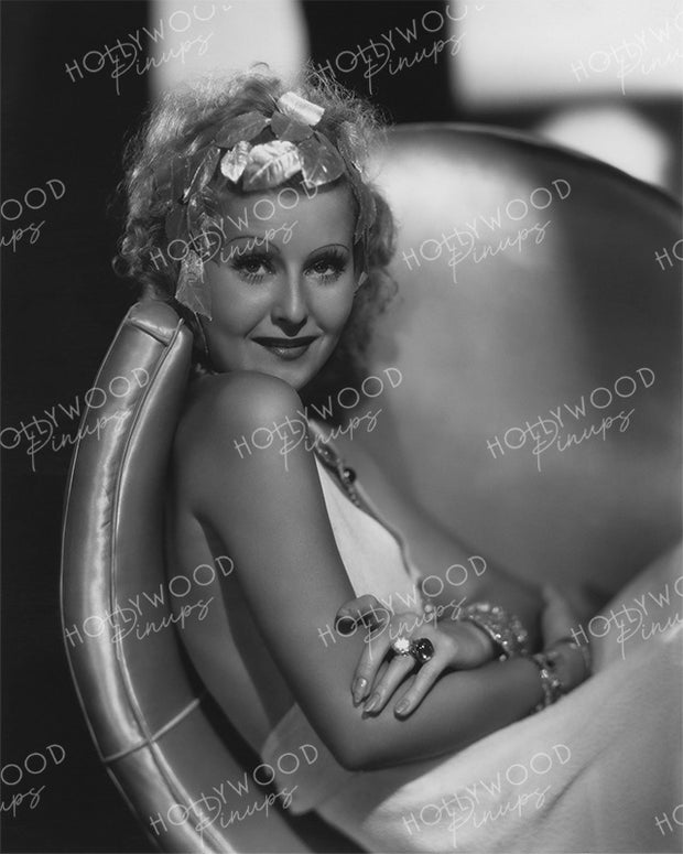 Lilian Harvey Shimmer Belle by OTTO DYAR 1933 | Hollywood Pinups Color Prints