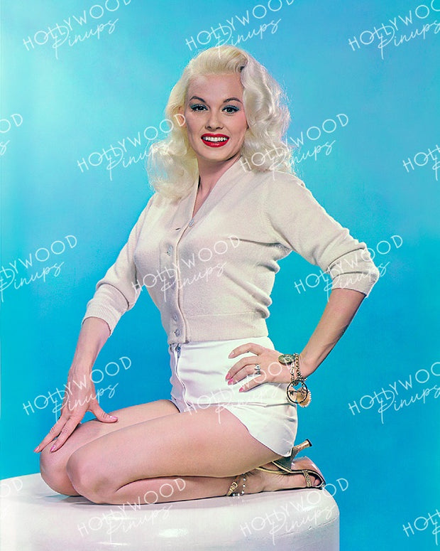 Mamie Van Doren Pinup Blonde 1956 | Hollywood Pinups | Film Star Colour and B&W Prints