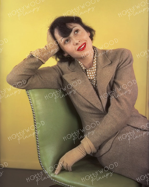 Luise Rainer Daydream Gaze 1937 | Hollywood Pinups | Film Star Colour and B&W Prints