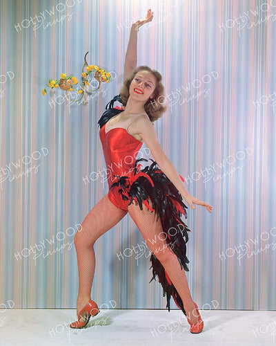 Vera Zorina Prima Ballerina 1940 | Hollywood Pinups | Film Star Colour and B&W Prints