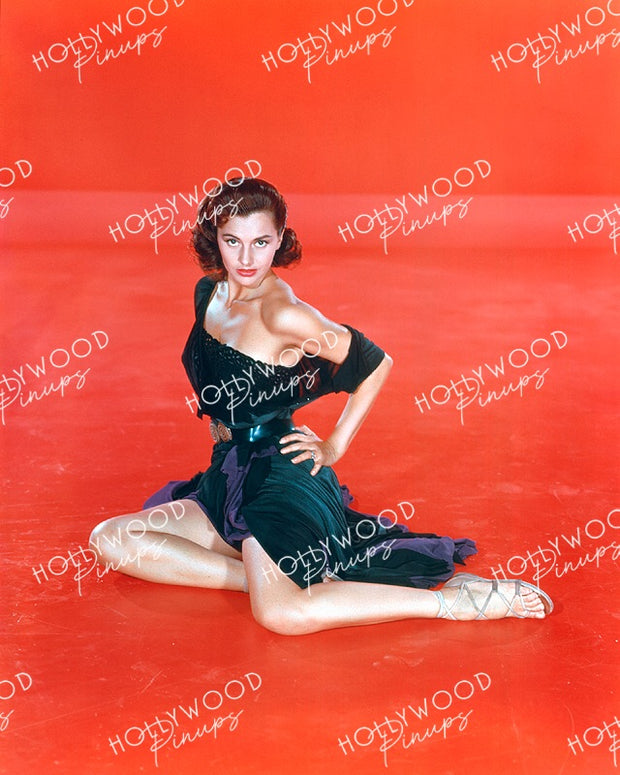 Cyd Charisse in SOMBRERO 1953 Kodachrome | Hollywood Pinups Color Prints