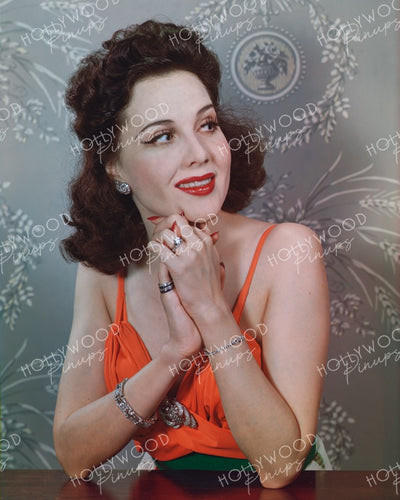 Mary Brian Lipstick Red 1942 | Hollywood Pinups | Film Star Colour and B&W Prints