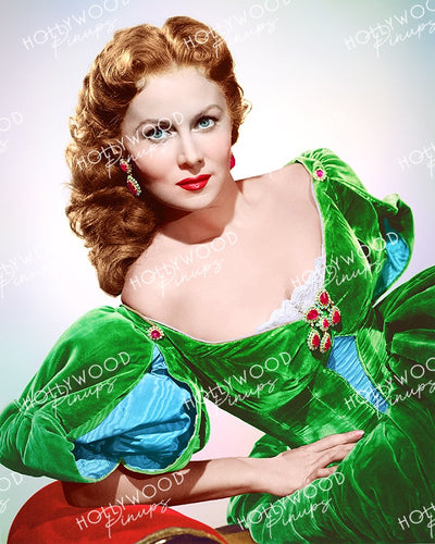 Rhonda Fleming in THE GOLDEN HAWK 1952 | Hollywood Pinups Color Prints