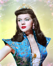 Peggie Castle Exotic Princess 1951 | Hollywood Pinups Color Prints